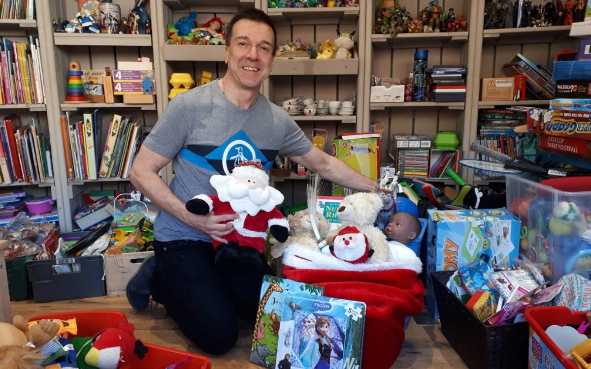 John Nicholson, chair of trustees, the Toy Project