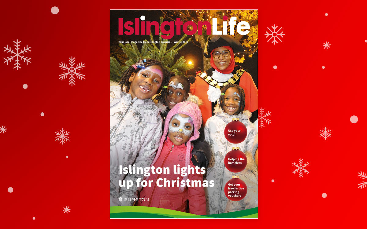 IslingtonLife cover winter 2019
