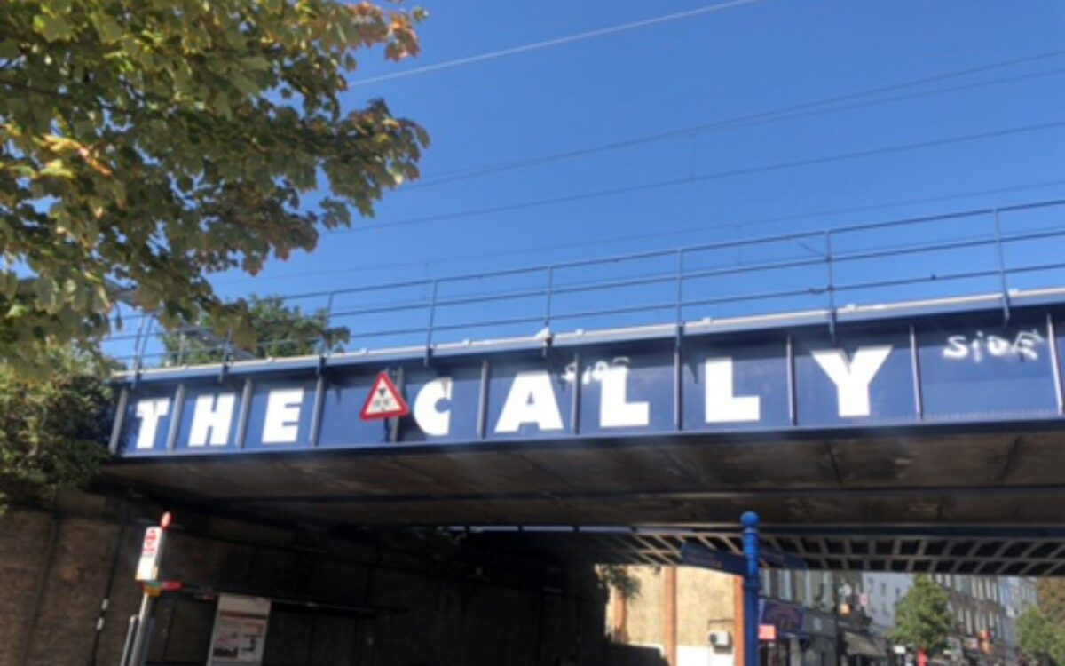 The Cally bridge on Caledonian Road