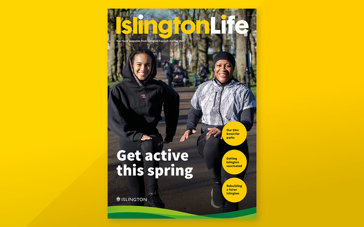IslingtonLife spring 2021 cover